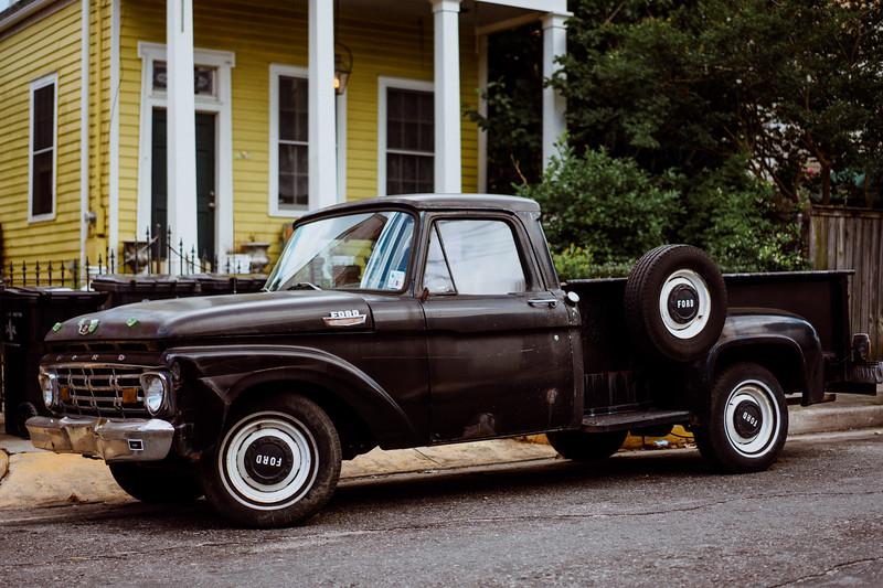 Black Ford Truck