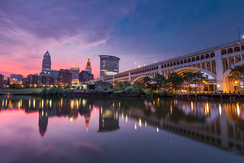 Cleveland Summer Sunrise