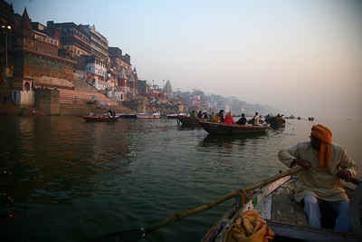 Dawn on the Ganges, Varanasi