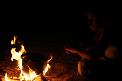 Cooking dal, Sam Sand Dunes