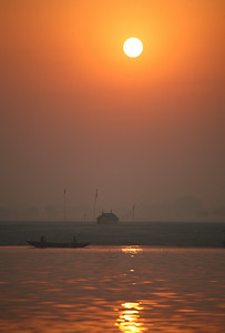 Sunrise over the Ganges, Varanasi
