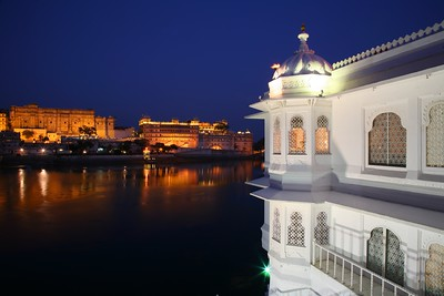 Lake Palace and City Palace, Udaipur