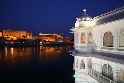 Lake Palace and City Palace, Udaipur
