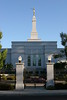 View of Medford Oregon Temple... side gate