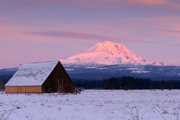 Mt Adams Dawn