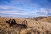 Horse-drawn Reaper - Snively Basin, Washington