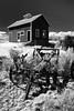 Wagon and Barn - Ruff, WA