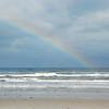 Partial rainbow over New Smyrna Beach, FL
