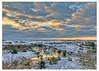 112Winter Sunset at Sandy Neck