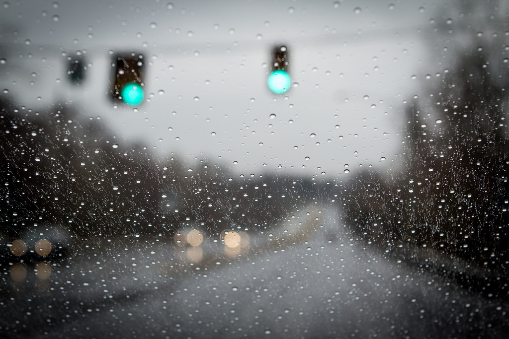 Bokeh in the Rain || Route 7, Fairfax County, VA