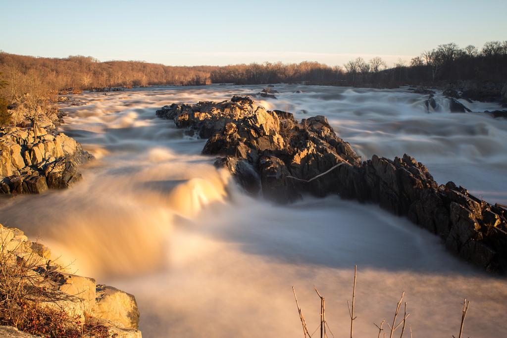 Golden Sunrise || Great Falls Park, VA