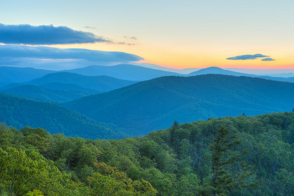 Shades of Blue     Shenandoah National Park, VA