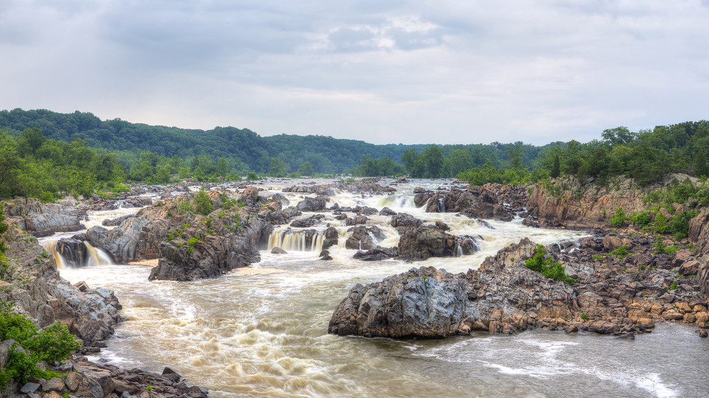 Great Falls Landscape || Great Falls Park, VA