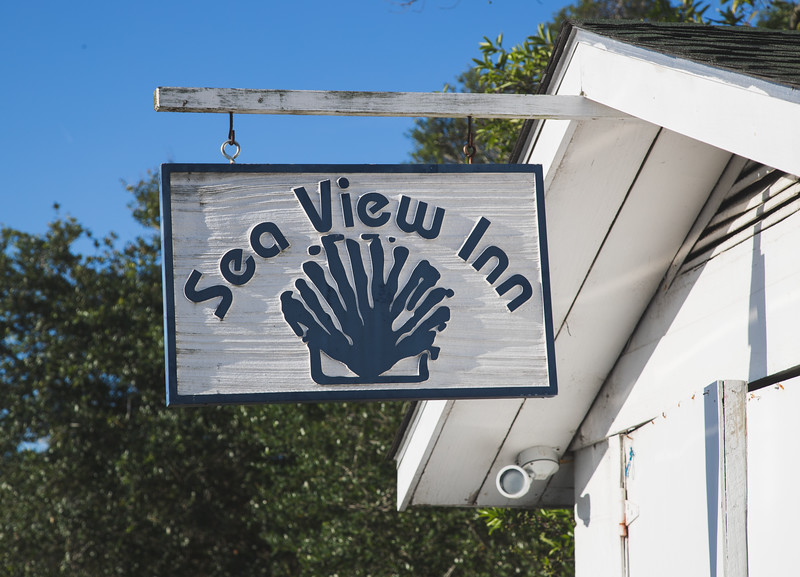 Built in 1937 the Sea View Inn is on a private beach with the ocean on one side, and a pristine salt marsh on the other. Pawleys Island, South Carolina  is a four mile long, one house wide island that is truly a step back in time.