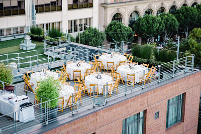 Hotel Vitale San Francisco Rooftop Wedding | Qiqi Huang Photography