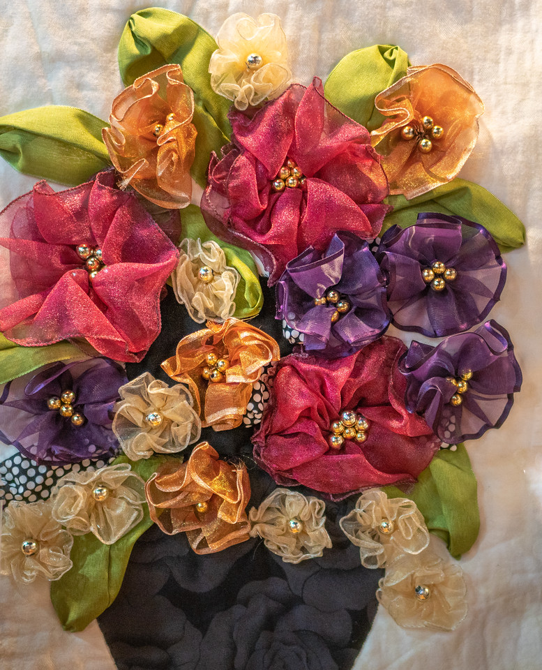 Detail of the Ribbon Bouquet