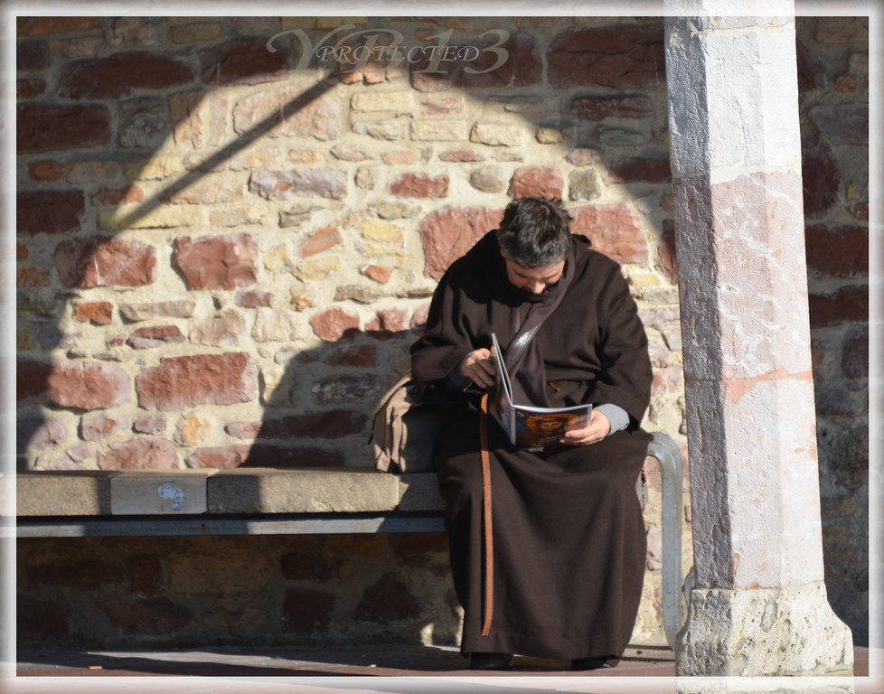QUIET TIME FOR FRIAR...