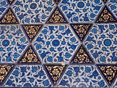 Topkapi Palace Wall Details