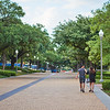 Couple on Path, University of Texas - Austin, Texas