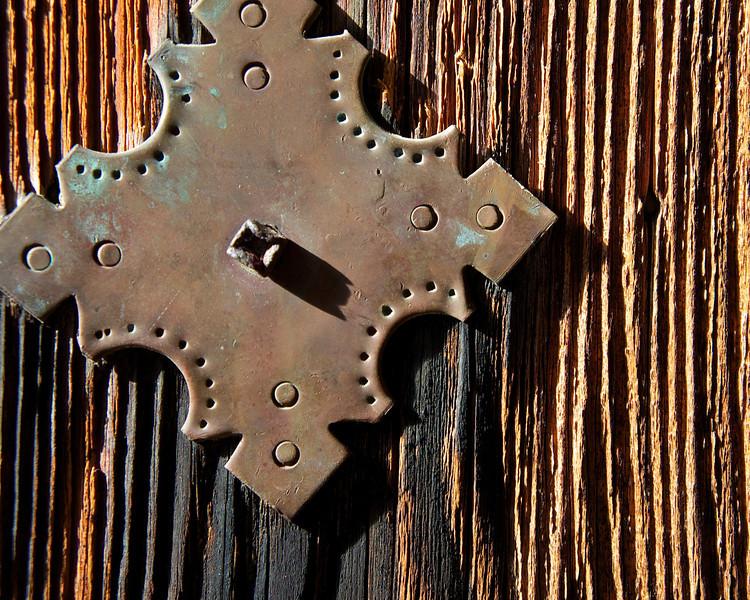 Mission San Juan Door Detail - San Antonio, Texas