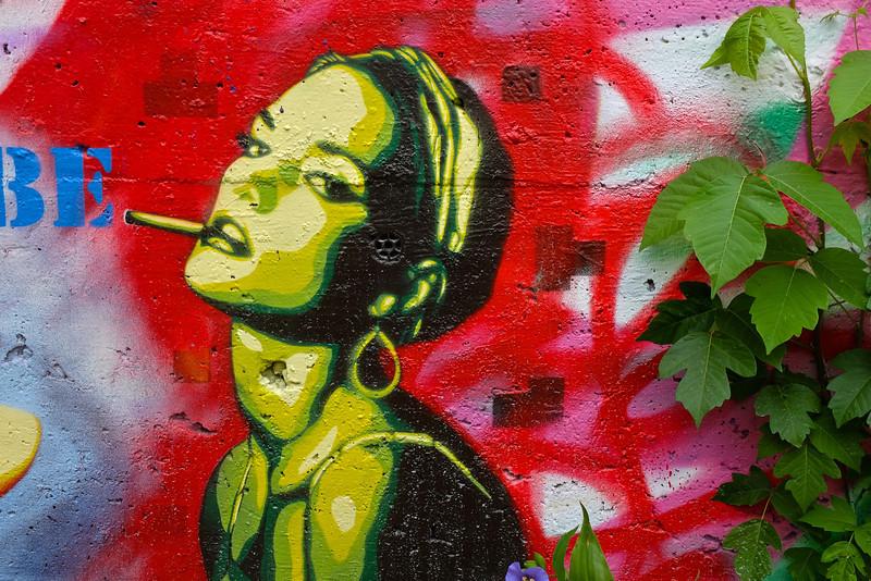 Observations at the graffiti wall #4 - Austin, Texas