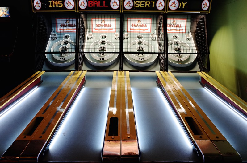 Skee Ball Glow - Austin, Texas