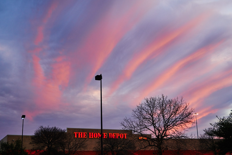 Home Depot Sunset - Austin, Texas