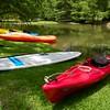 Kayaks by the creek - Austin, Texas