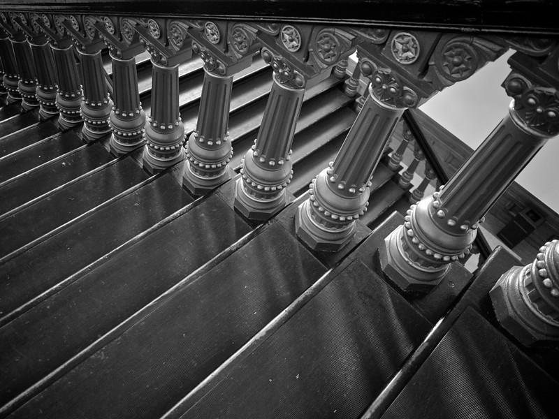 Stair Detail, Texas State Capitol - Austin, Texas