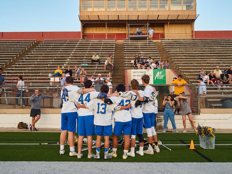 Senior Night, Varsity Lacrosse - Austin, Texas