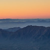Arizona Sunrise from the Plane