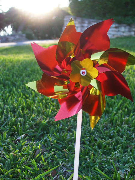 Neighborhood Pinwheel - Austin, Texas