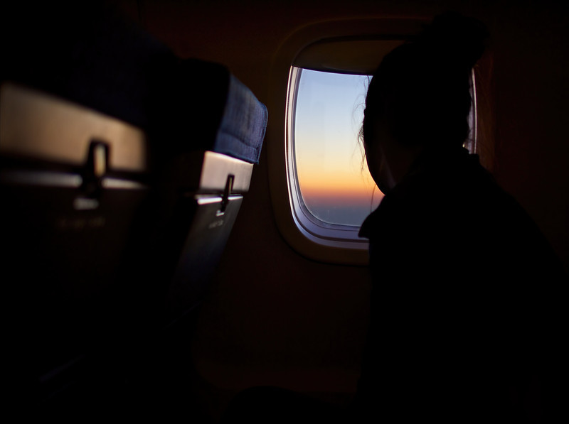 A Window with a View, American Eagle Flight - California