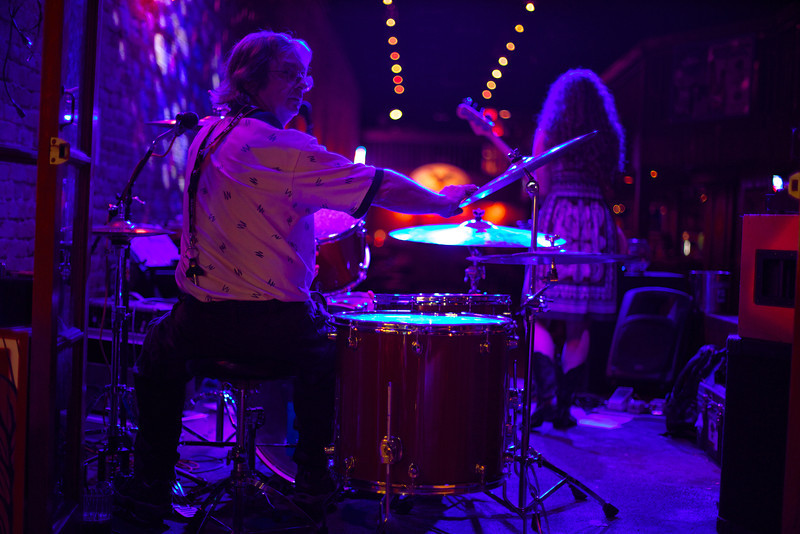 Drummer, Bat Bar - Austin, Texas