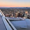 Flying over Downtown - Phoenix, Arizona