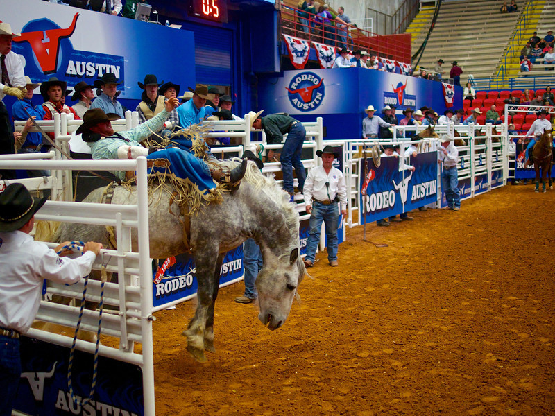 Bucking Bronco 4, Rodeo Austin - Austin, Texas