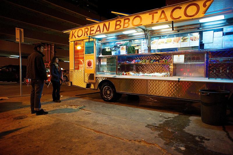 Korean BBQ Tacos - Austin, Texas