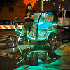 Pedicab Reflection, 6th street - Austin, Texas