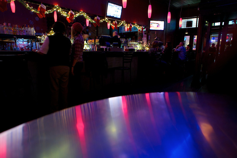Reflections from the Bar - Austin, Texas