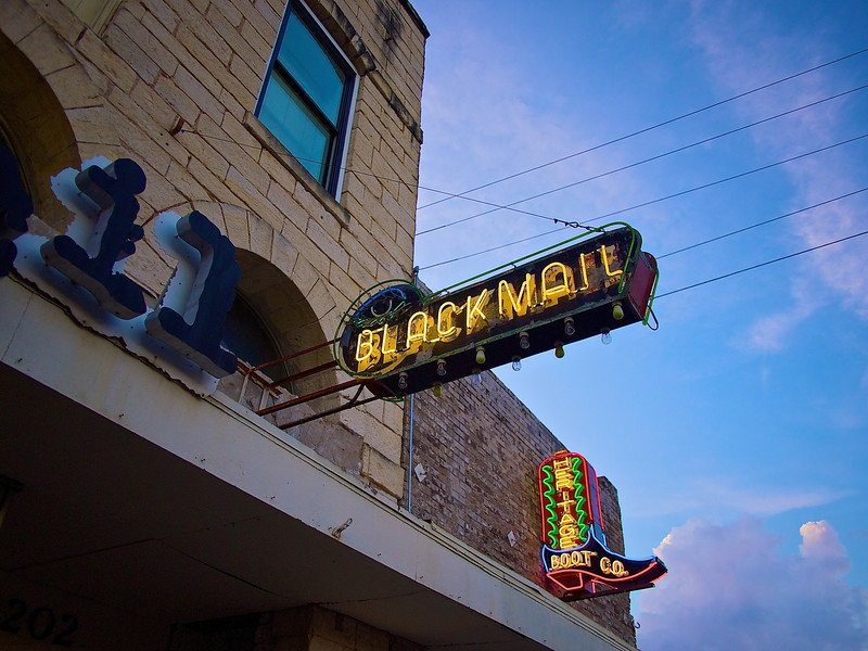 Blackmail and Boot Neon, SoCo - Austin, Texas