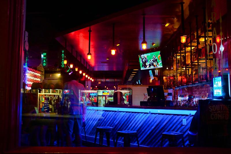 Bar Colors, 6th Street - Austin, Texas