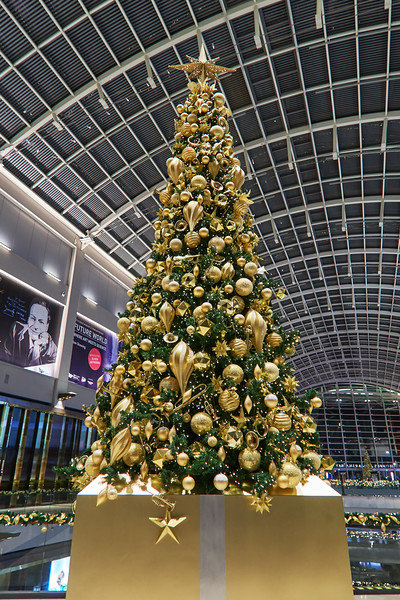 Christmas Tree, Shoppes at Marina Bay Sands - Singapore