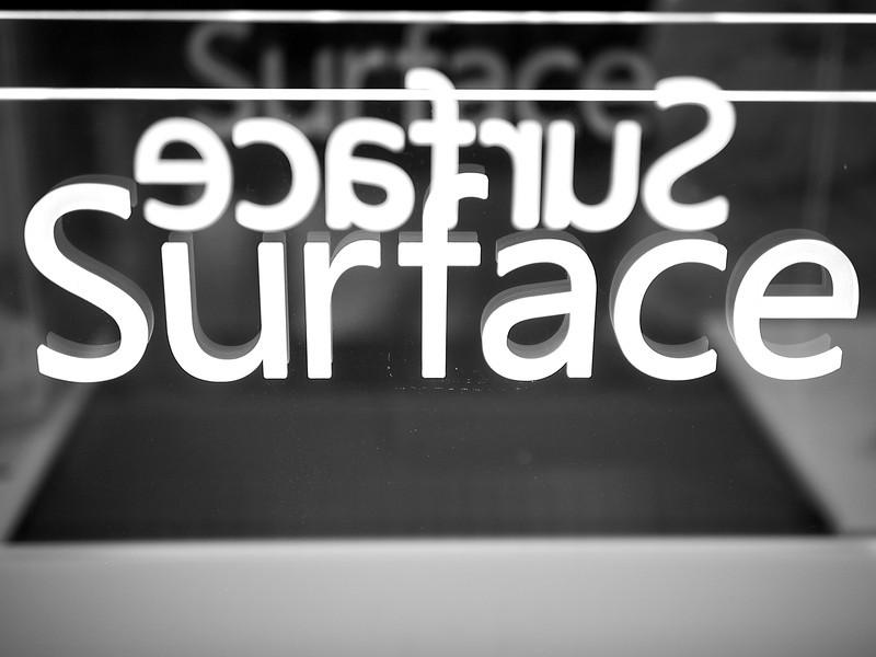 Surface Reflection, Microsoft Store - Austin, Texas