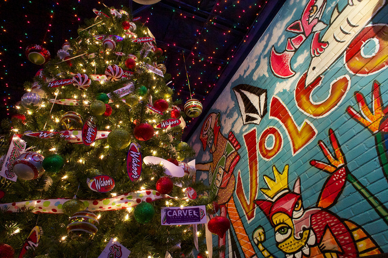 Wahoo Christmas Tree - Austin, Texas