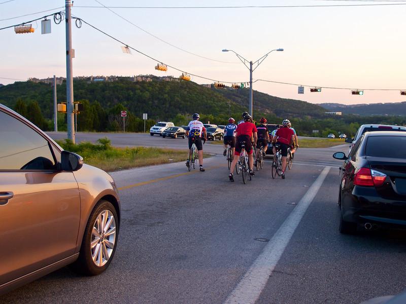 360 Cyclists - Loop 360 - Austin, Texas