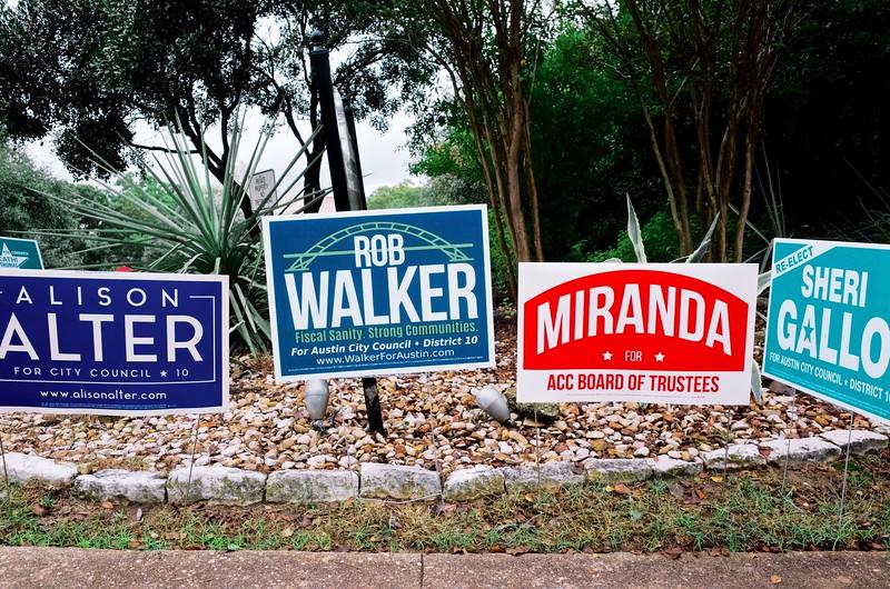 Local Races, 2016 Election Day - Austin, Texas