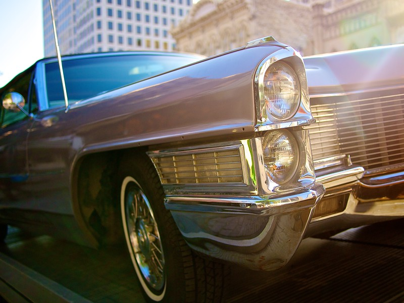 Classic Cadillac, Congress Avenue - Austin, Texas