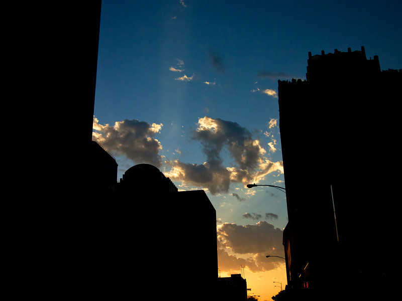 Downtown Silhouette and Sunset - Austin, Texas