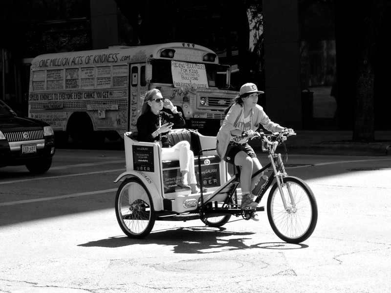 Executive Pedicab, SXSW Interactive - Austin, Texas