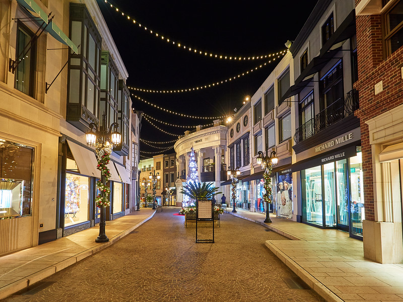 Rodeo Drive Shopping - Beverly Hills, California